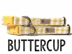 Buttercup – Organic Cotton Collars & Leashes