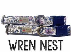 Wren Nest – Organic Cotton Collars & Leashes