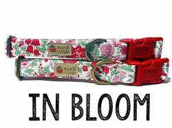 In Bloom – Organic Cotton Collars & Leashes