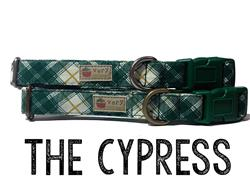 The Cypress – Organic Cotton Collars & Leashes