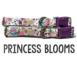 Princess Blooms – Organic Cotton Collars & Leashes