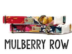Mulberry Row – Organic Cotton Collars & Leashes