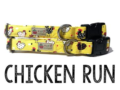 Chicken Run – Organic Cotton Collars & Leashes