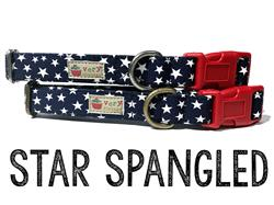 Star Spangled – Organic Cotton Collars & Leashes