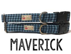 Maverick – Organic Cotton Collars & Leashes