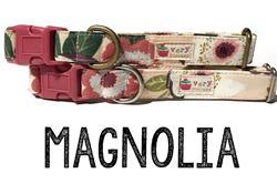 Magnolia – Organic Cotton Collars & Leashes