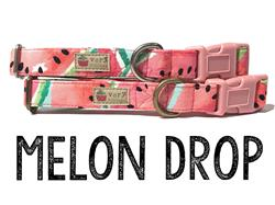 Melon Drop – Organic Cotton Collars & Leashes