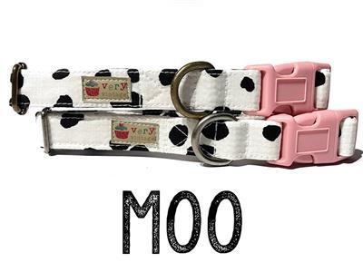 Moo – Organic Cotton Collars & Leashes