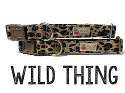 Wild Thing – Organic Cotton Collars & Leashes