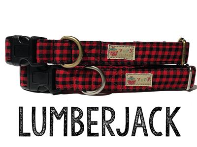 Lumberjack – Organic Cotton Collars & Leashes