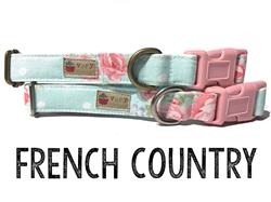 French Country – Organic Cotton Collars & Leashes