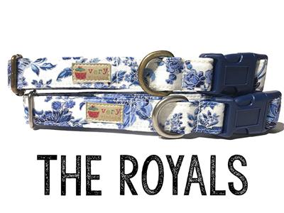 The Royals – Organic Cotton Collars & Leashes