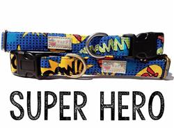 Super Hero – Organic Cotton Collars & Leashes