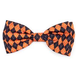 Halloween Arygle Bow Tie