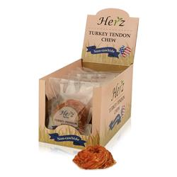 Herz 72g USA Turkey Tendon Ring, Large - Display Box (10)