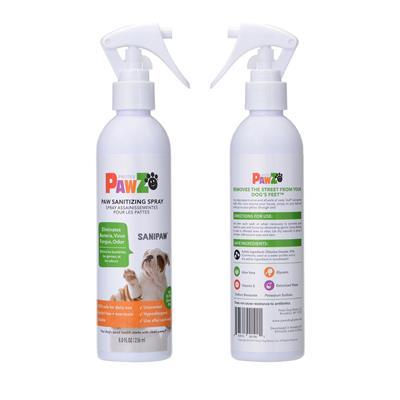 SaniPaw Sanitizing Paw Spray & Wipes by PawZ