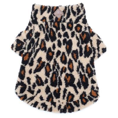 Leopard Sherpa 1/4 Zip Pullover