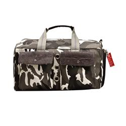 Bark-n-Bag Sauvignon Barc Cotton/Cork Camo Pet Carrier