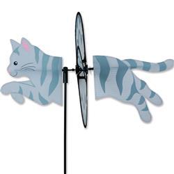 Petite Spinner - Gray Tabby