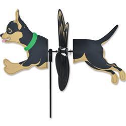 Petite Spinner - Black & Tan Chihuahua