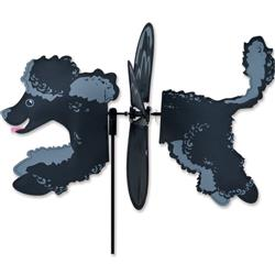 Petite Spinner - Black Poodle