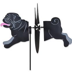 Petite Spinner - Black Pug