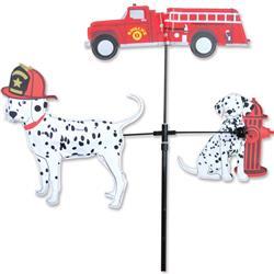 Single Carousel Spinner - Fire Truck & Dalmatians