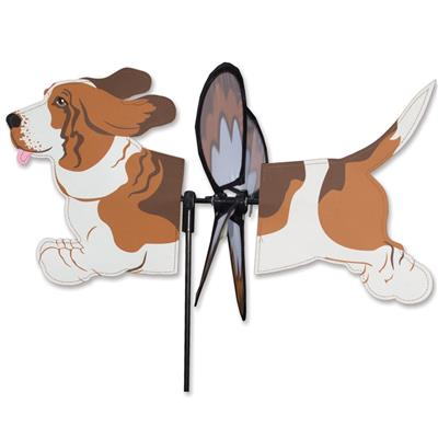 Petite Spinner - Basset Hound