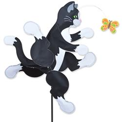 WhirliGig Spinner - 22 in. Running Cat