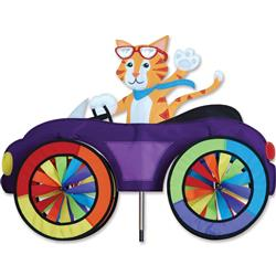 25 in. Car Spinner - Cat