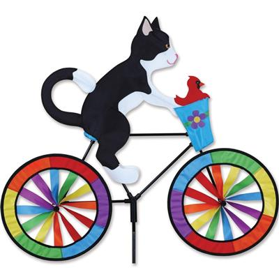 Bike Spinner - Tuxedo Cat - 30 in.