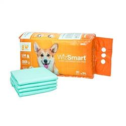 WizSmart ULTRA  (30 pack), All Day Dry Premium Dog and Puppy Training Pads
