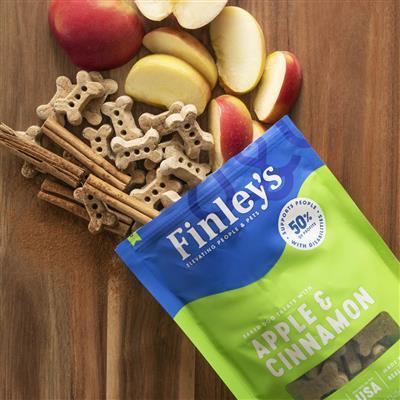 Apple & Cinnamon Crunchy Biscuits, 12 oz. Bag