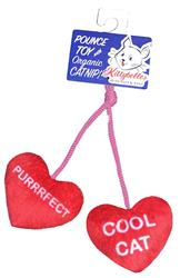 Heart Strings Cat Toy by Kittybelles