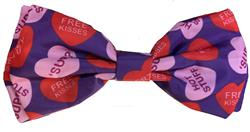 Convo Hearts Bow Tie by Huxley & Kent