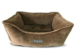 NANDOG MICRO PLUSH REVERSIBLE MINK DOG BED