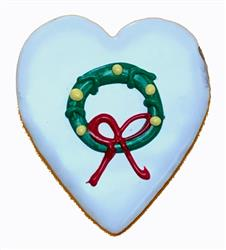 Holiday Wreath Heart
