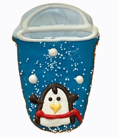 Venti 2-Pump Penguin Latte