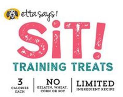 Etta Says! Sit! Training Treats Peanut Butter Recipe, wt 6oz