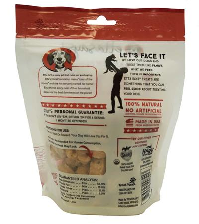 Etta Says! Eat Simple! 100% Freeze Dried Lamb, wt 2.5oz