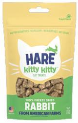 Hare Kitty Kitty 100% Freeze Dried Rabbit Treat - wt 0.9oz