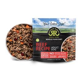 Raised Right Beef Adult Dog Recipe, 2 lb Bag