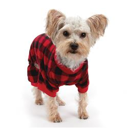 Casual Canine Buffalo Check Plaid Flannel Pajamas