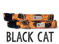 Black Cat – Organic Cotton Collars & Leashes