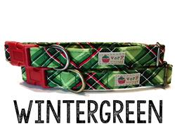 Wintergreen – Organic Cotton Collars & Leashes