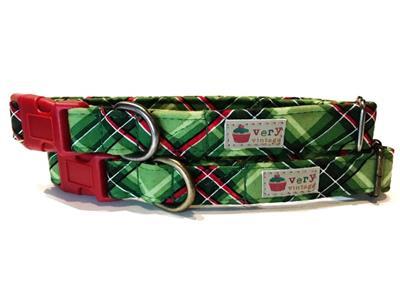 Wintergreen – Organic Cotton Collars & Leashes