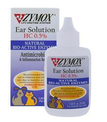 Zymox Ear Solution With .5% Hydrocortisone 1.25Oz Bottle