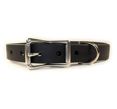 Black Waterproof Dog Collars & Leads