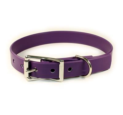 Purple Waterproof Dog Collars & Leads