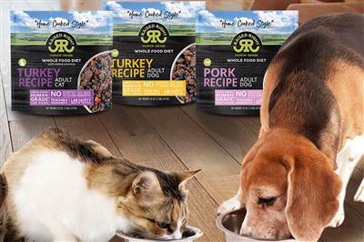 Custom Case of Raised Right Pet Food, 2 lb Bags